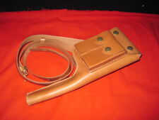 High quality --Replica WW2 GERMAN MAUSER C96 BROOMHANDLE LEATHER HOLSTER