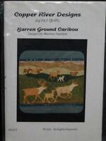 Barren Ground Caribou Herd Wall Quilt Pattern Copper River Designs Alaska AK