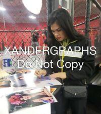RACHAEL OSTOVICH SIGNED AUTOGRAPHED 11X14 PHOTOGRAPH MMA UFC-EXACT PROOF COA