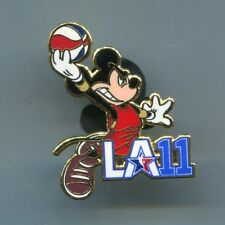 NBA 2011 All Star Game Disney Mickey Pin Lakers Staples Center