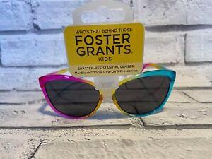 Foster Grant Kids Sunglasses - Rainbow - Shatter resistant 100% UVA-UVB Maxblock