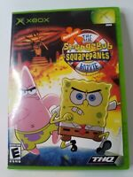 The SpongeBob SquarePants Movie Game (Xbox, 2004) Complete with Manual Free Ship