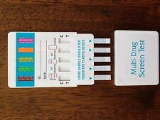 5 Panel Drug Test BZO/COC/mAMP/OPI/THC Box of 25 Test Kits