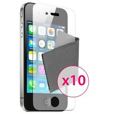 10 x Films de protection Miroir HD ® pour iPhone 4 / 4S