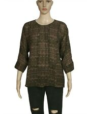 Isabel Marant Printed Cutout Blouse Top Casual New Large L
