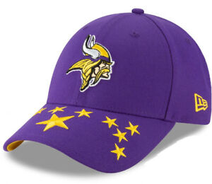 MINNESOTA VIKINGS NEW ERA STATE FLAG HAT 59FIFTY NFL FITTED FOOTBALL CAP
