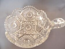 "ANTIQUE IMPERIAL CUT CRYSTAL GLASS NUCUT ""RADIANT DAISY"" NUT CANDY NAPPY BOWL"