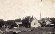 Sinnington. Church & Maypole.