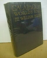 Galapagos World's End by William Beebe 1924 Hardcover *Signed*