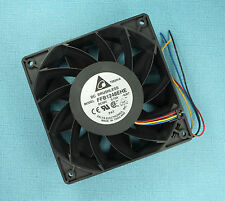 Delta FFB1248EHE -6J67 - 48V DC - 120mm - DC Brushless Axial Flow Fan - 190 CFM