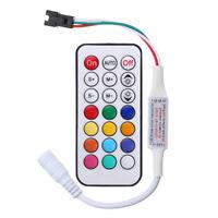 DC 5V-24V LED IR Remote Controller For WS2811 WS2812 WS2812B LED Strip Light  8