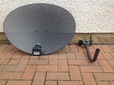 Zone 2 Sky Satellite Dish QUAD LNB Freesat PVR HD Plus 80cm Hotbird Astra Polsat
