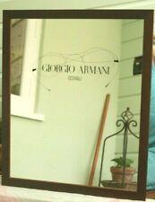 More details for vintage large picture advertising mirror, giorgio armani occhiali sunglasses