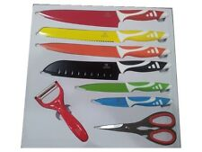 Set 8 cuchillos acero color Swiss Line