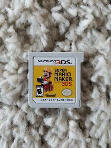 Super Mario Maker - CART ONLY  - NINTENDO 3DS - FAST SHIPPING