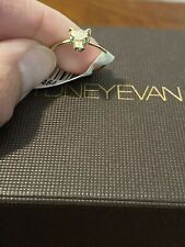 Sydney Evan Panther Ring Diamonds With Green Emerald Eyes 14k Size 6 NWT $925