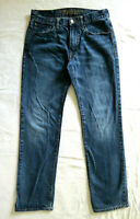 MENS 30 X 30 American Eagle BLUE JEANS Original Straight Medium Dark Wash