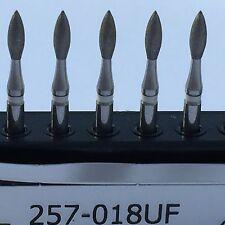 Dental Diamond Burr Ultra Fine ( 20 ) Football Shape (368) # 257-018UF