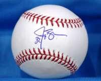 Jay Bruce Signed Mlb Coa Major League Oml Baseball Authentic Autographed