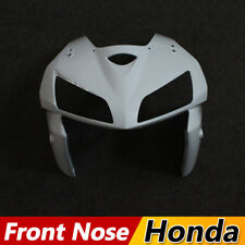 Unpainted Upper Front Nose Cowl Fairing for HONDA CBR600RR 2005 2006 ABS Covers
