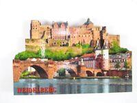Heidelberg Burg Brücke Holz Souvenir Magnet,Germany Deutschland,Neu