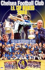 Chelsea FC 2000 F.A. Cup Football Association Winners Vintage Original POSTER