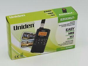 Uniden Bearcat EZI33 XLT PLUS Handheld Air Marine VHF Scanner Receiver Airband