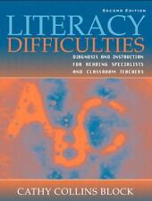 Literacy Difficulties: Diagnosis and Instruction for Reading Specialists and Cla