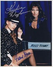 KRISTINA WAYBORN & MAUD ADAMS SIGNED 007 JAMES BOND 8x10 PHOTO - UACC AUTOGRAPH