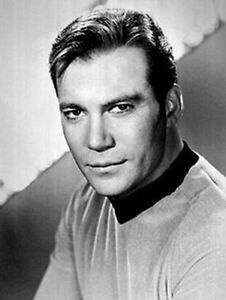 William Shatner as Captain Kirk glossy  photographic print. A5