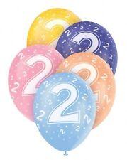 Ballons Anniversaire Latex  Fête Décoration Anniversaire 2 ans