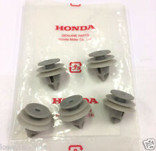 Genuine OEM Honda Interior Panel Clip Five (5) Pack Clips Door White Blue Gray