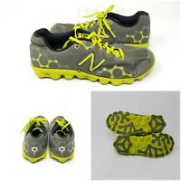 New Balance Minimus Ionix 3090 Gray Green Running Shoes Sneakers Boys Size 5.5