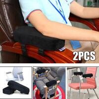 Pair Elbow Pain Relief Cushion Armrest Office Sponge Elbow Pillow Arm Chair Pads