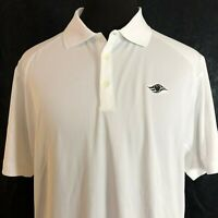 Nike Golf Tour Performance Dri-Fit Short Sleeve Polo Shirt Size XL White Disney