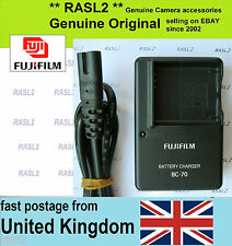 Original FUJIFILM Charger,BC-70 for NP-70 Battery,Finepix F20, F40fd,F45fd,F47fd