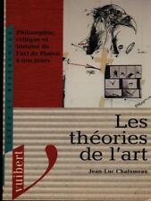 LES THEORIES DE L'ART  JEAN-LUC CHALUMEAU VUIBERT 1997 IDEES ET REFERENCES