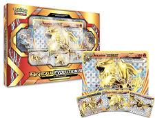 Arcanine BREAK Holo Evolution Pokemon Card Box | Shiny Foil + 5 Booster Packs