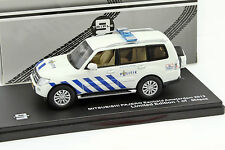 Mitsubishi Pajero Politie Amsterdam 2013 white / blau 1:43 Triple 9