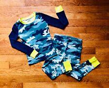 Childrens Place EST 1989 Camo Base Layer Long Johns Pajama Set Size 5 Cotton