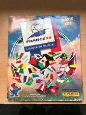 PANINI France 1998 WORLD CUP STICKER ALBUM WM WC 98-QUASI COMPLETO RARO