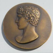Medaille Jüngling,Bronze,Jeunesse et sports,Frankreich ca.1960,Originalschatulle