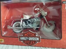 Collectible Harley Davidson 1962 Due Glide Motor Cycle Replica