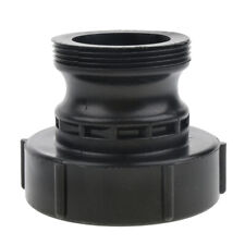 Ibc Coarse Threads Adapter Ibc Tote Tank Cap for Water Tanks 2inch Black