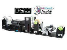 Afinia Label Fp230 On Demand Flexible Packaging Printer With Unwinder Amp Rewinder