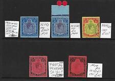Bermuda Stamp Collection George VI HVs inc £1 sg121?. Total SG cat: £480+?