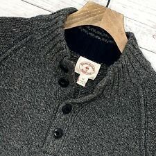 """⭐ mens Brooks Brothers lambswool  knit wool pullover sweater jumper size M 38"""""""