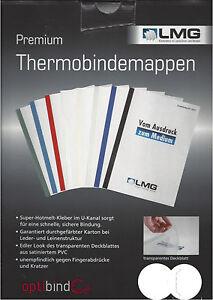 LMG Premium Thermobindemappe weiß 1,5mm - 12,0mm
