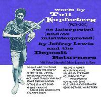 JEFFREY LEWIS - WORKS BY TULI KUPFERBERG 1923-2010 1923-2010  CD NEW!