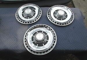 "Vintage 1969 CHEVY CHEVELLE Chevrolet Hubcap Rim Wheel Cover Hub Cap 14"" VG Cond"